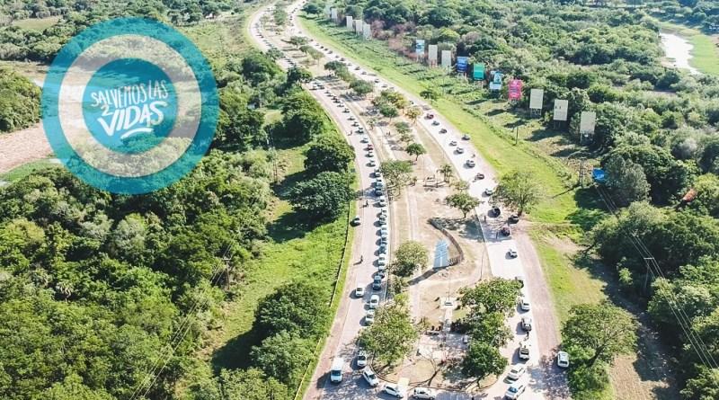 Multitudinaria movilización por las 2 vidas en Chaco