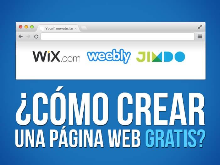 Paginas Web Diseño Gratis