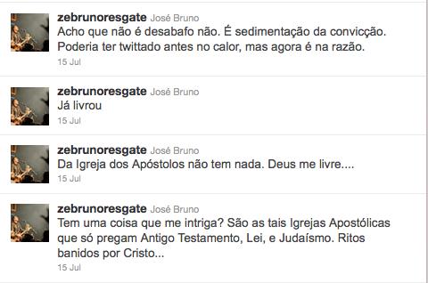 Zé Bruno no Twitter