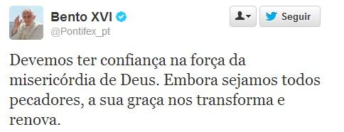 twitter bento XVI