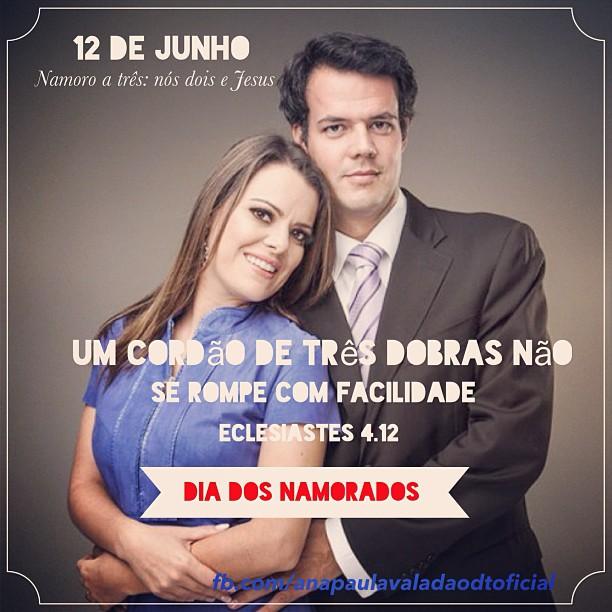 Gustavo Bessa e Ana Paula Valadão, do Diante do Trono.