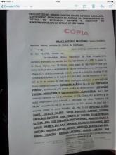 Cópia da representação de Marco Feliciano contra o Porta dos Fundos no Ministério Público