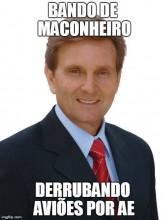 Meme com o senador
