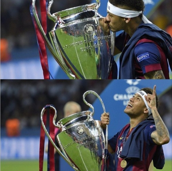 neymar - liga dos campeoes - berlim 2