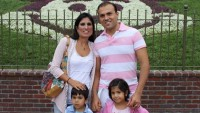 Pastor Abedini e a família