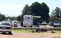Autoridades guardam local da explosão para colher evidências