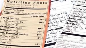 Etiquetado frontal de alimentos envasados