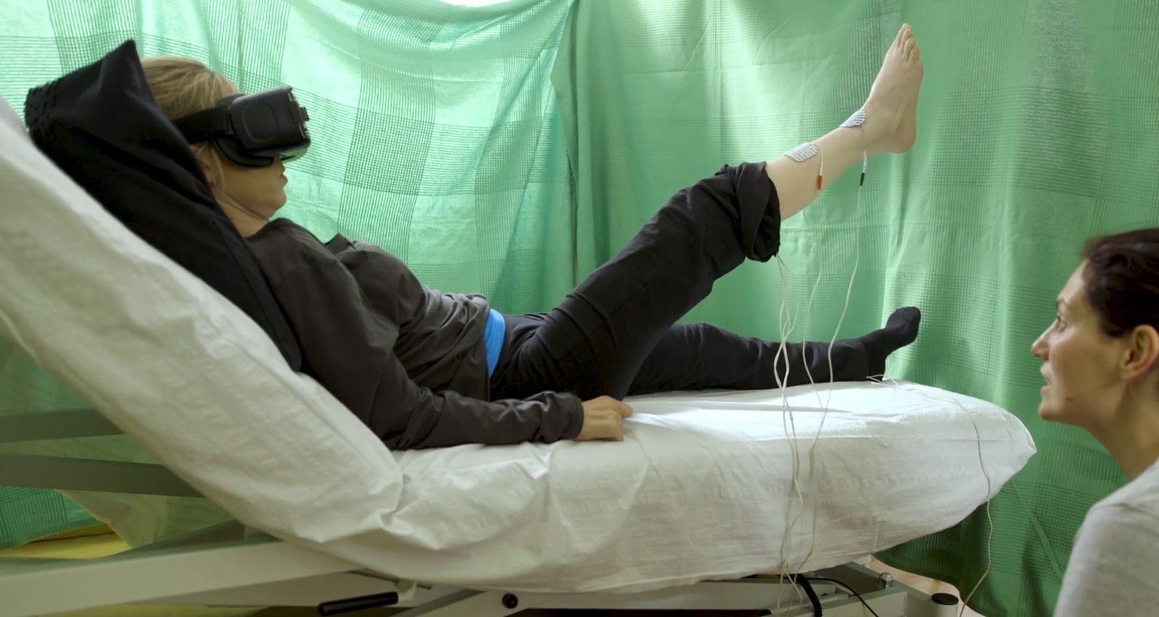 Realidad virtual para engañar al cerebro y volver a caminar