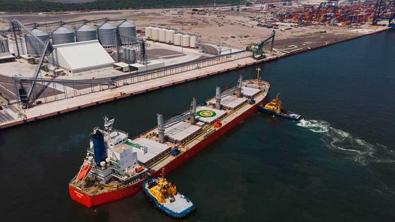 PETRA Puertos Especializados Transnacionales del Grupo Gramosa inicia operaciones en el nuevo Puerto de Veracruz