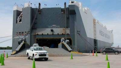 Puertos de México cumplen un año a la baja en movimiento automotriz