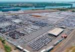 Puerto Lázaro Cárdenas, México: 52 días de bloqueo en vía férrea satura terminales de automóviles