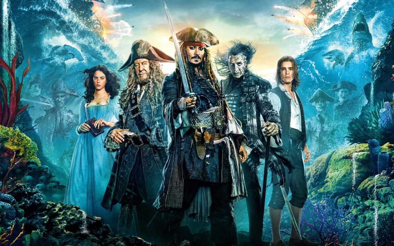 'Piratas del Caribe: La Venganza de Salazar' ¡Vuelve el capitán Sparrow!