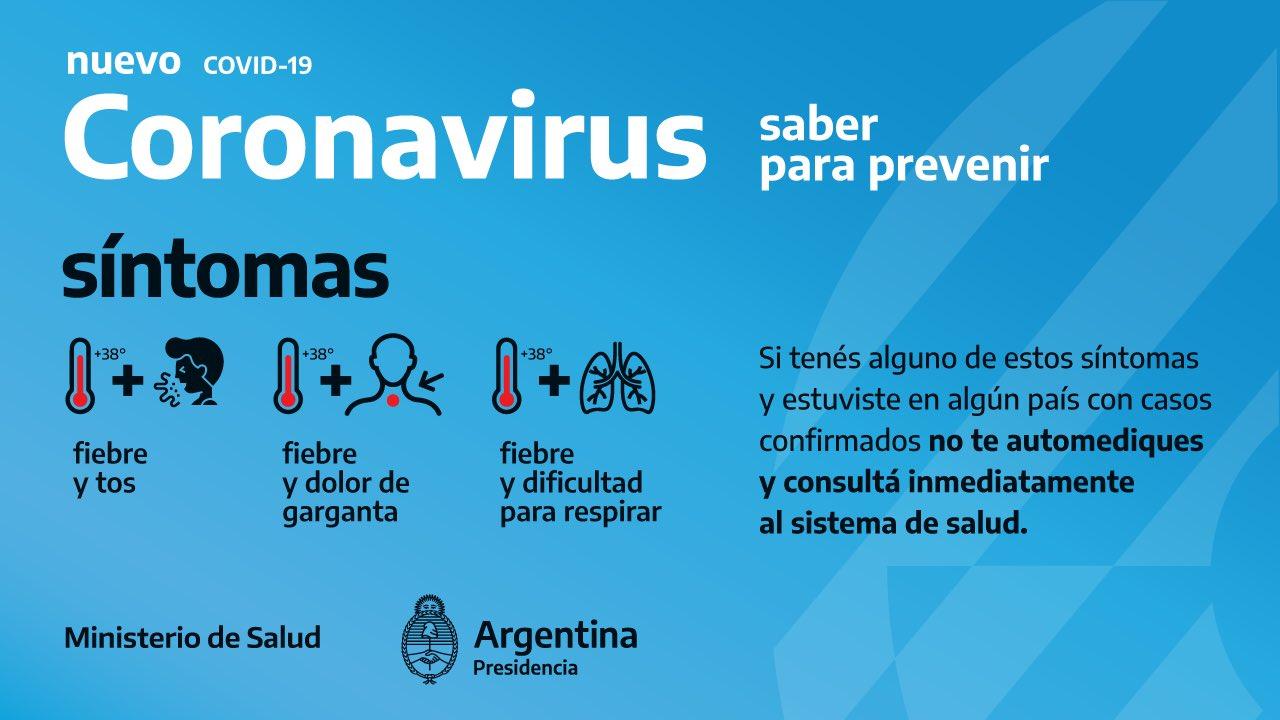 Coronavirus: prevención, aislamiento y recomendaciones