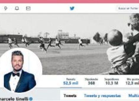 Twitter de Marcelo Tinelli