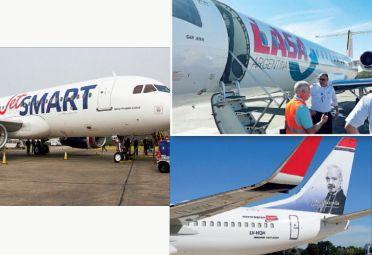 Norwegian, Jet Smart, LASA