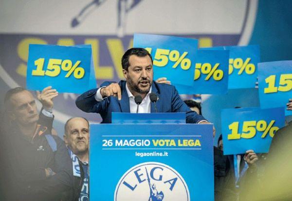 "Matteo Salvini, el nuevo ""duce"""