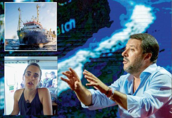 Italia xenófoba: Capitana vs. Salvini