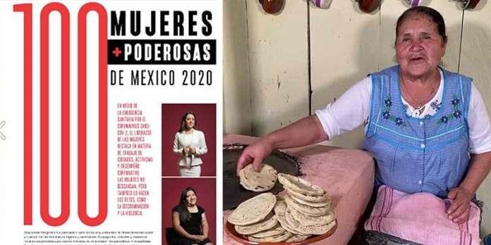 """Doña Ángela de """"De mi rancho a tu cocina"""", entre las 100 mujeres ..."""