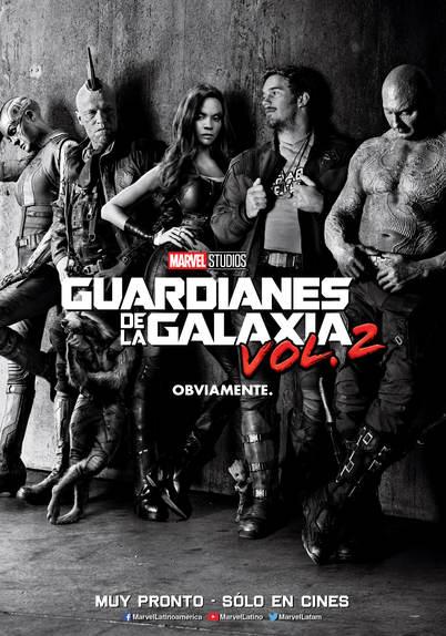 Posters Guardianes de la Galaxia en Español 2
