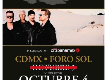 U2 abre nueva fecha en México 5