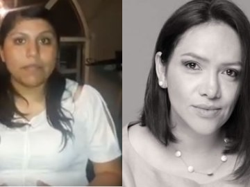 Yndira Sandova y Claudia Juárez