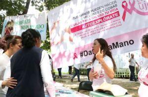 En Chiapas se promueve la autoexploración mamaria 6