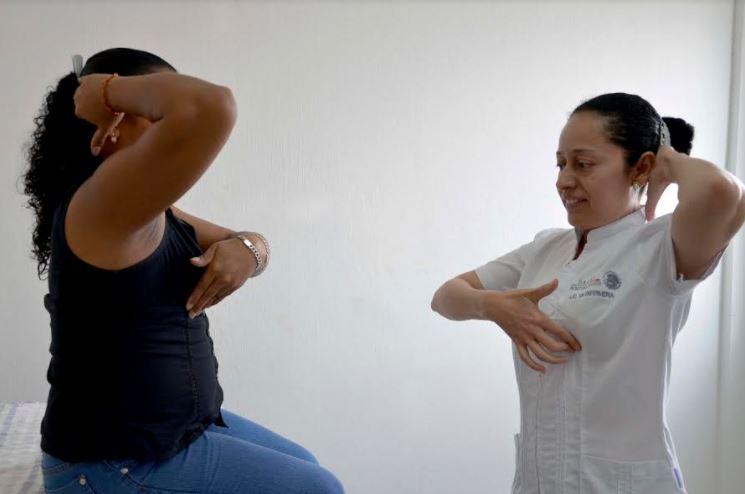 En Chiapas se promueve la autoexploración mamaria 1