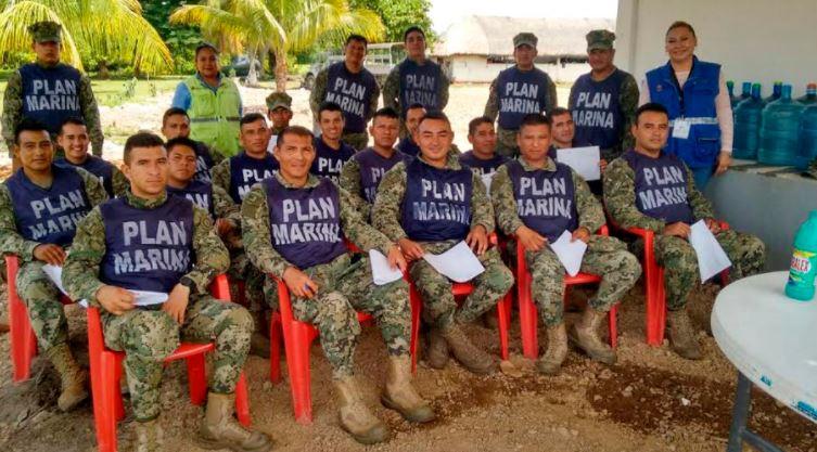 Apoya Secretaría de Marina en acciones de salud ante contingencia por sismo
