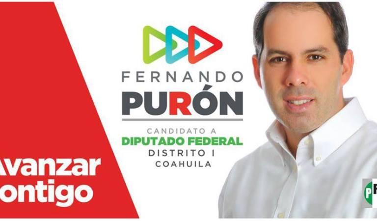 Ejecutan a candidato del PRI, Fernando Purón en Piedras Negras