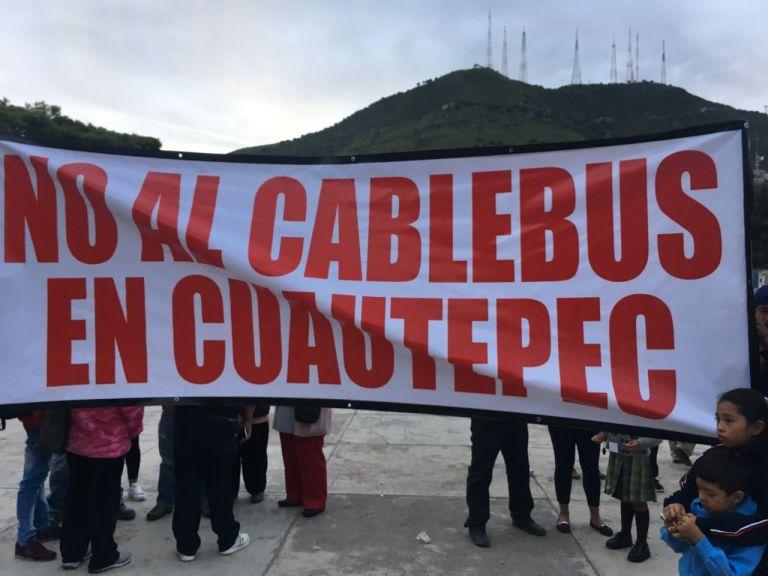 ACUSAN ASAMBLEA AMAÑADA POR EL GOBIERNO, PARA AVAL DE CABLEBÚS EN CUAUTEPEC 1