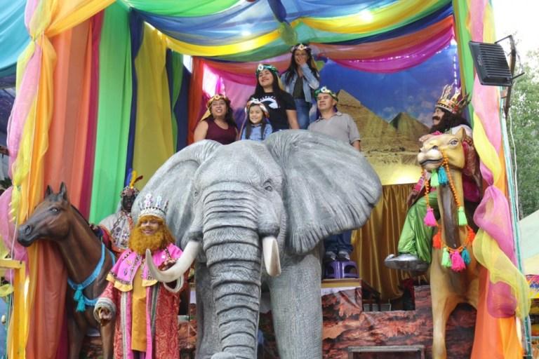 Visita a los Reyes Magos a la Alcaldía Cuauhtémoc este 2020 1