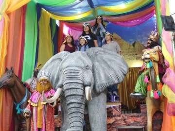 Visita a los Reyes Magos a la Alcaldía Cuauhtémoc este 2020 3