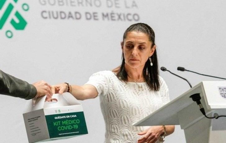 Para prevenir COVID-19, Claudia Sheinbaum anuncia kits sanitarios 4