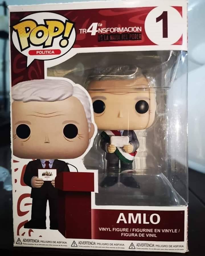 Ya está a la venta Funko Pop de AMLO 5