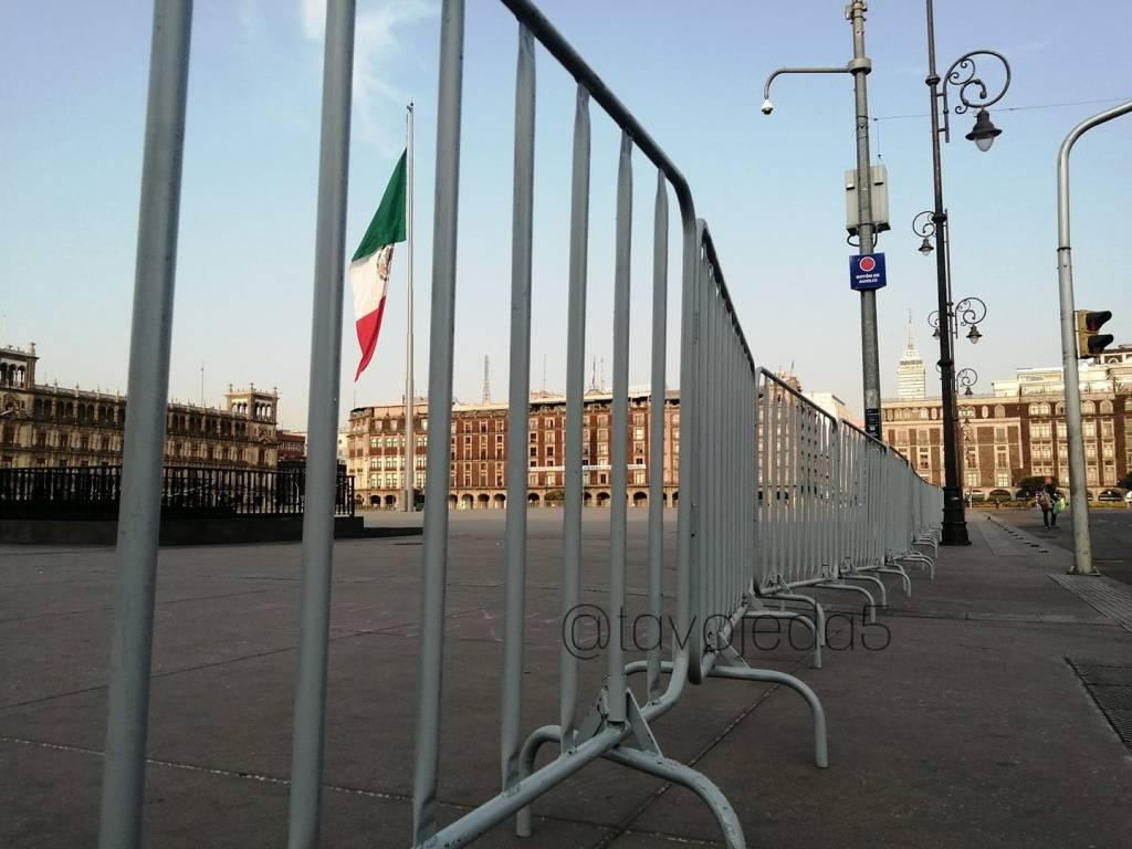 Calle Madero y plancha del Zócalo cerradas para evitar propagación de COVID-19 5
