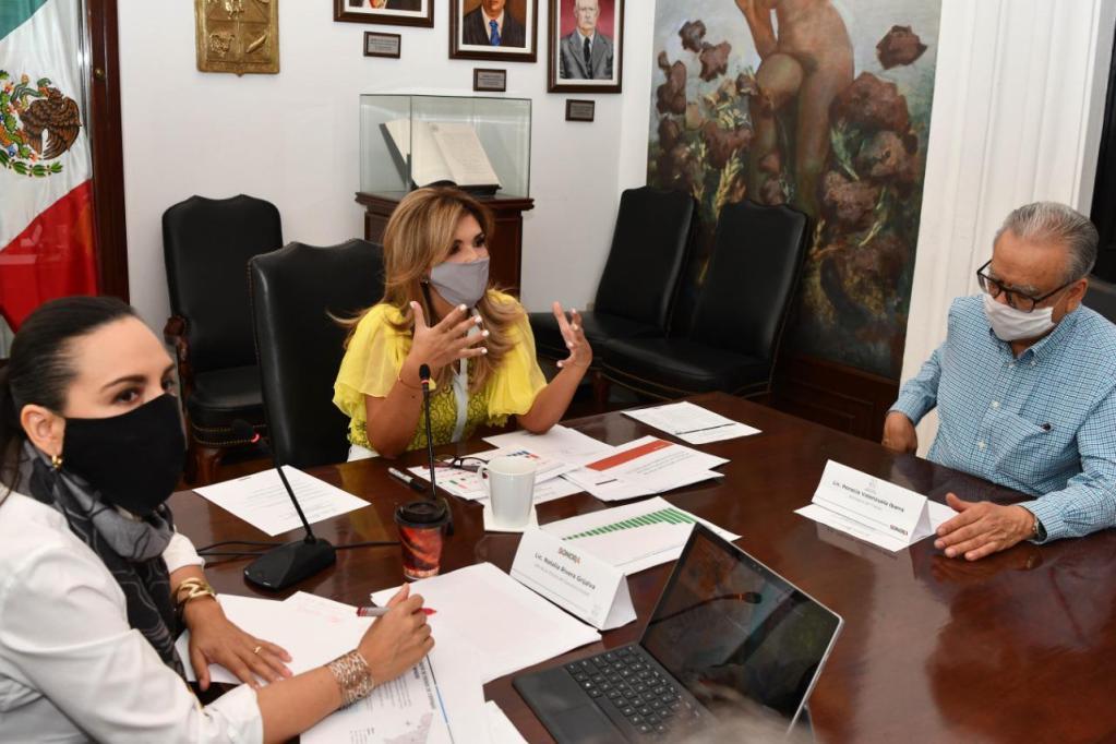Evalúa Gobernadora avance en el diseño del  Plan de Reactivación Económica 20-21 2