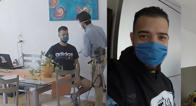YouTuber diagnosticado con COVID-19, sale a comprar pizza en la Narvarte 1