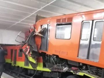 Detienen a presuntos responsables del choque de trenes en el Metro Tacubaya 2