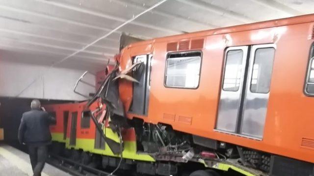 Detienen a presuntos responsables del choque de trenes en el Metro Tacubaya 1