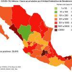 #COVID19 en México 7 de mayo 2020, casos defunciones y tasa de incidencia nacional y por estado 6