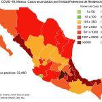 #COVID19 en México 9 de mayo 2020, casos defunciones y tasa de incidencia nacional y por estado 8