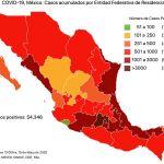 #COVID19 en México 19 de mayo 2020, casos defunciones, activos y tasa de incidencia nacional y por estado 4
