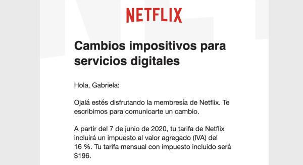 Por nuevo impuesto, plataformas digitales como Netflix aumentan sus precios en México 2
