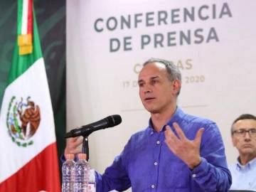"""""""¿Para qué necesitamos el veneno embotellado?"""", López-Gatell en Chiapas 5"""