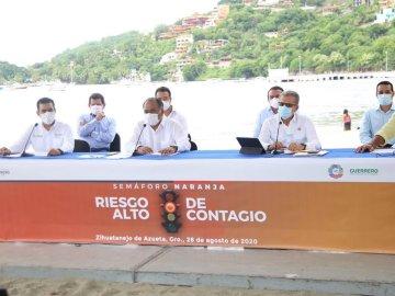 A partir de la próxima semana Guerrero pasará a semáforo amarillo, informó el gobernador Héctor Astudillo 2