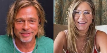 Así fue el reencuentro virtual entre Jennifer Aniston y Brad Pitt (Video) 10