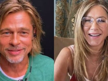 Así fue el reencuentro virtual entre Jennifer Aniston y Brad Pitt (Video) 5