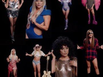 Para promover el voto, Lady Gaga recrea sus looks más icónicos 4