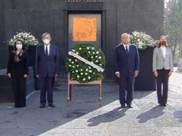 Encabeza AMLO ceremonia para conmemorar el 50 aniversario luctuoso de Lázaro Cárdenas 6