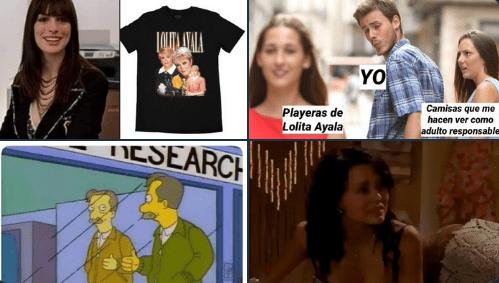 Lolita Ayala lanza su colección oficial de playeras inspiradas en noticiero y las redes explotan (mejores memes)